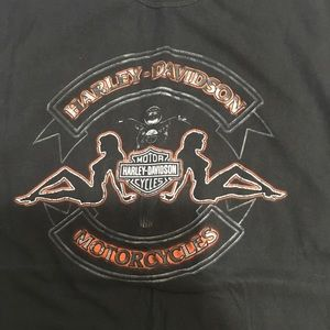 Men's XL Harley t-shirt black